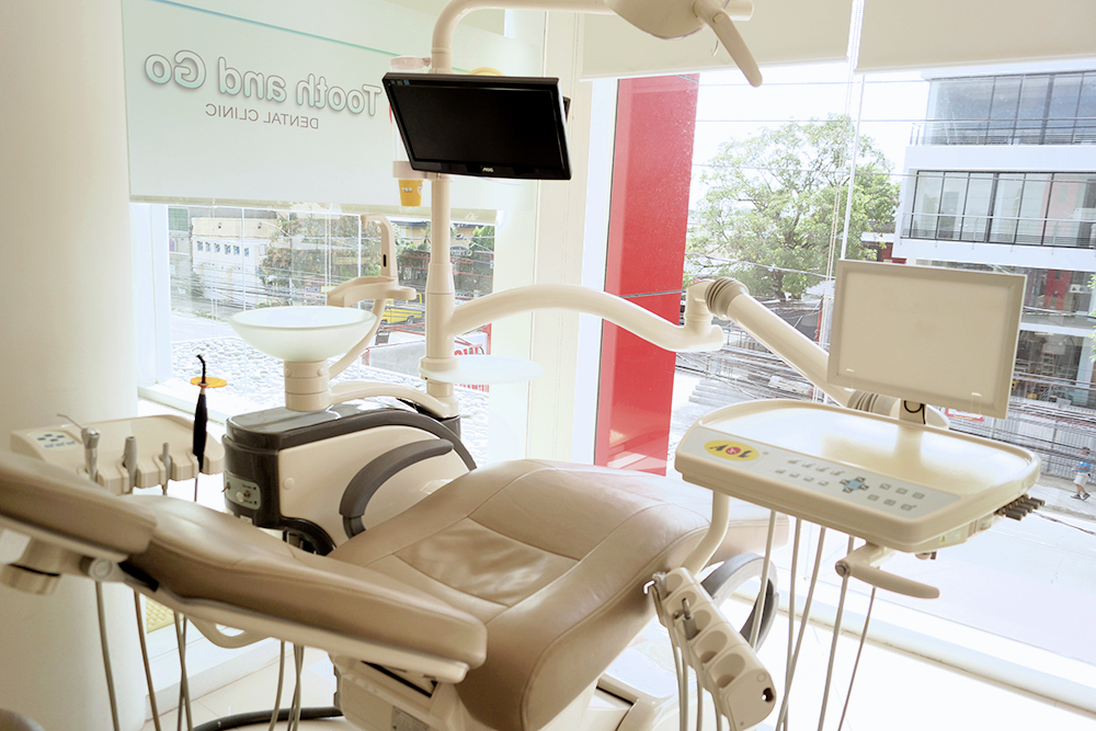 dental chair and room in Dental Clinic
